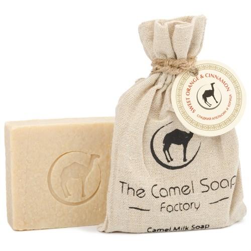Мыло из верблюжьего молока - сладкий апельсин  и корица - фото 6133