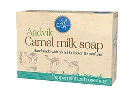 Мыло из верблюжьего молока - розмарин и мята - фото 6141
