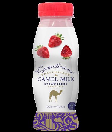 Верблюжье молоко - вкус клубники - фото 6178