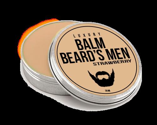 Бальзам для бороды из верблюжьего молока - аромат клубники - фото 6185