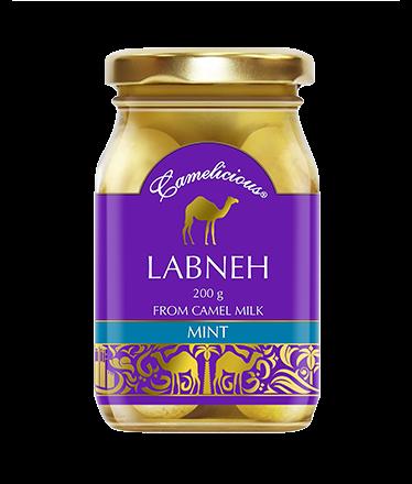 Сыр из верблюжьего молока - LABNEH MINT - фото 6202