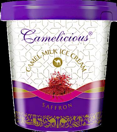 Мороженое из верблюжьего молока - шафран - фото 6208