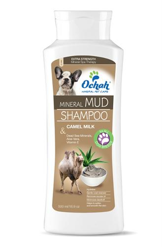 Верблюжье молоко, минеральный Грязевой шампунь - фото 6215