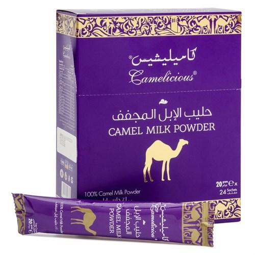 Cухое верблюжье молоко в стиках в коробке - фото 6287