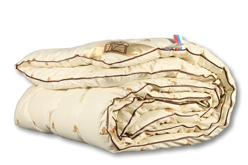 Одеяло из верблюжей шерсти,пэ - классическое-всесезонное Сахара  200х220 - фото 6740