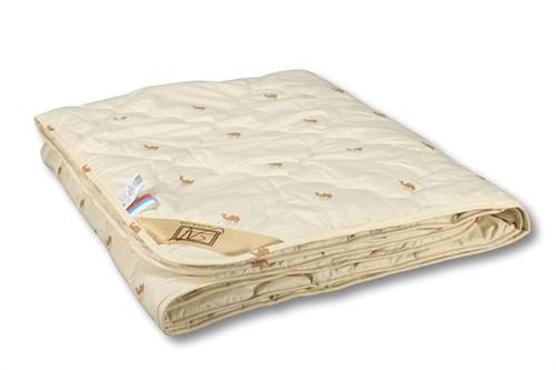 Одеяло из верблюжей шерсти,пэ - легкое Сахара  200х220 - фото 6743