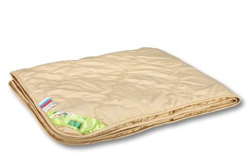 Детское одеяло верблюжий пух,пэ.- Гоби. 140х105  легкое - фото 6764