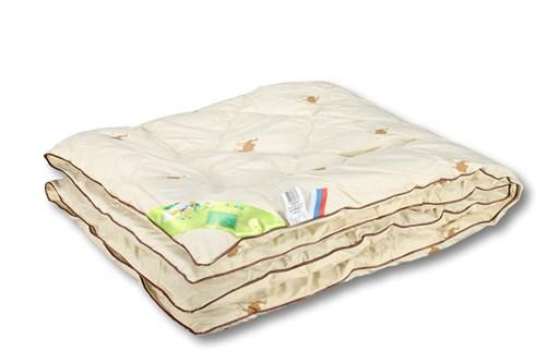 Детское одеяло верблюжья шерсть,пэ.- Верблюжонок. 110х140 - фото 6766