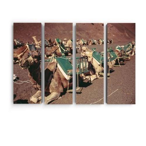 Модульная картина из 4 элементов - Караван - фото 6857