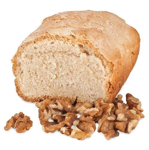 Хлеб на верблюжьем молоке  с грецким орехом - фото 7057