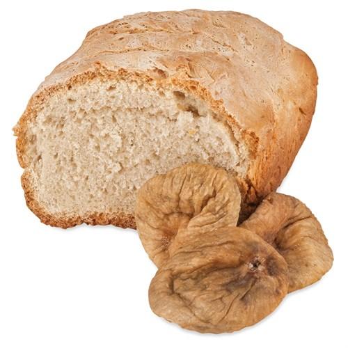 Хлеб на верблюжьем молоке  с инжиром - фото 7062