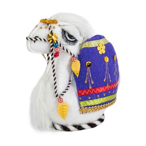 Сувенир Верблюжонок  с попоной - фото 7299
