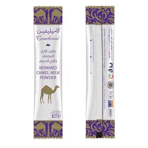 Обезжиренное сухое верблюжье молоко в стиках в тубе - фото 8098