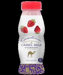 Верблюжье молоко - вкус клубники