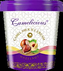 Мороженое из верблюжьего молока - фундук