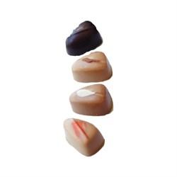 Шоколадные конфеты пралине с верблюжьим молоком ассорти