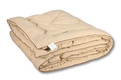 Одеяло из верблюжей шерсти,пэ  классическое-всесезонное Сахара - ЭКО  140х205