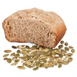 Ржаной хлеб на верблюжьем молоке с семенами тыквы