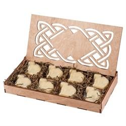 Конфеты из верблюжьего молока в шкатулке - Шафран